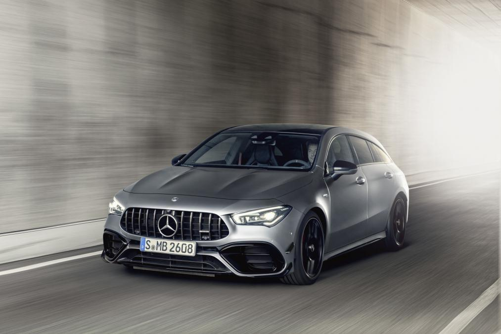 2019 mercedes amg cla 45 s shooting brake 2