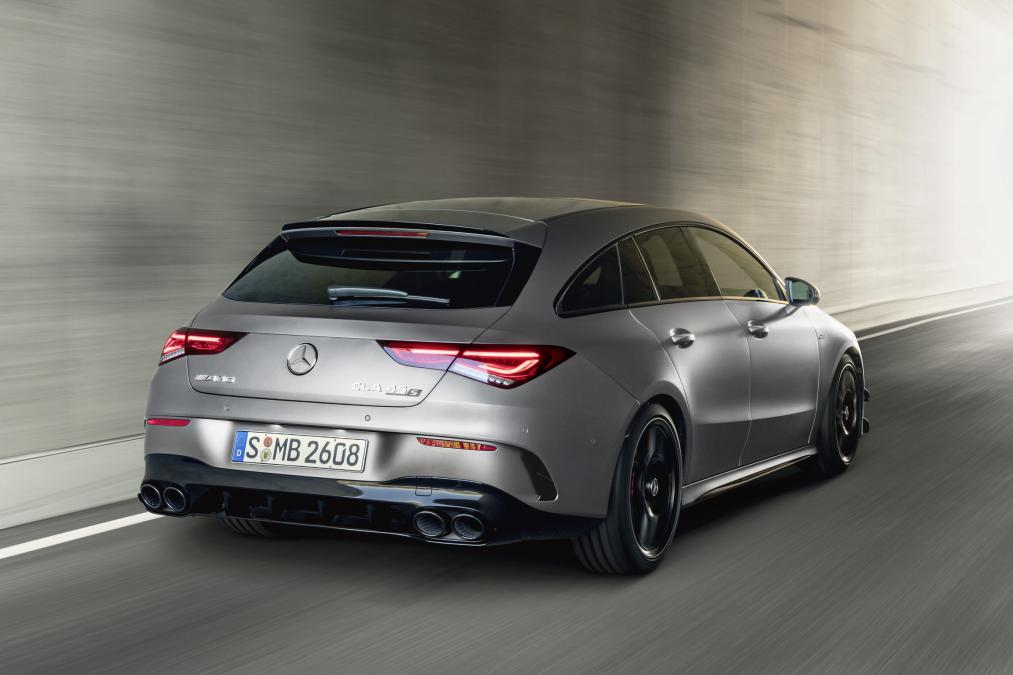 2019 mercedes amg cla 45 s shooting brake 3