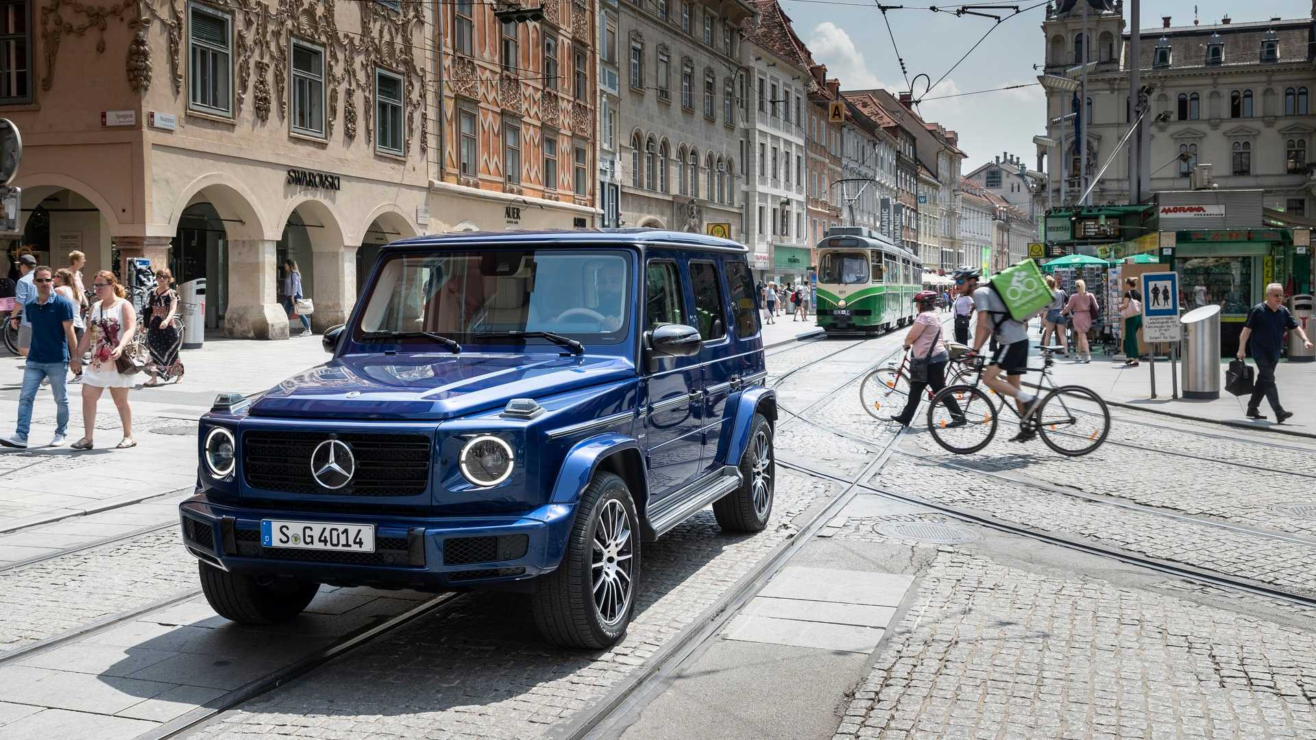 2019 mercedes clasa g stronger than time 1